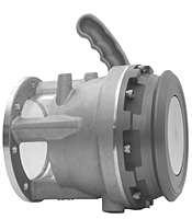 API Bottom Load Valve with Inline Sight Glass
