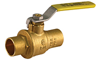Jomar Brass Ball Valve Sweat