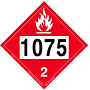 Dot 1075 Decal Removable Vinyl Adhesive