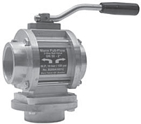 2 Way Ball Valve Alum