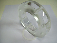 Sight Glass Acrylic Flanged