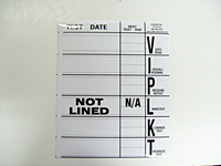 TTS Dot Test Date Decal
