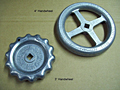 Handwheel 3 in. & 4 in. Aluminum Hydrolet or Manifold Valve